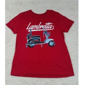 NWT Lambretta Scooter Short Sleeve T-Shirt Men's
